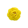 Bouton grosse rose 34mm jaune