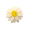 Bouton grosse marguerite blanche