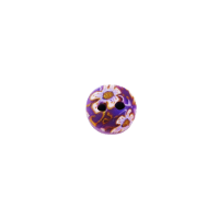 Bouton Rond violet