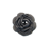 Bouton grosse rose 34mm marine