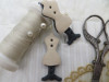 Bouton mannequin couture beige